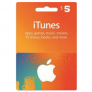 iTunes Gift Card US - $5 -