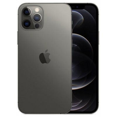 "iPhone 12 Pro Max 512Gb Graphite 512Gb Graphite (MGDG3) экран: 6,7"" OLED (1170x2532); процессор: Apple A14 Bionic • ОС: Apple iOS 14 • камера: 12 (f/1.6, широкоугольная) + 12 (f/2.4, 120 градусов, сверхширокоугольная) + 12 (f/2.0, 2х кратный телеобъектив)"