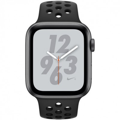 Apple Watch Series 4 Nike+ 44mm Space Gray Apple Watch Series 4 Nike+ (GPS) 44mm Space Gray Aluminium Case with Anthracite/Black Nike Sport Band (MU6L2)