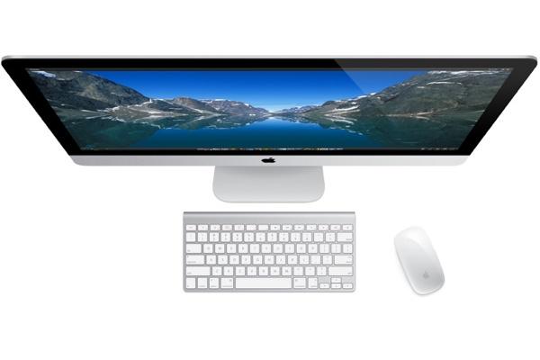 Клавиатура и мышь в комплекте с iMac