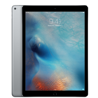 "iPad Pro (Wi-Fi+4G) Space Gray iPad Pro 128Gb (Wi-Fi+Cellular) ""космический серый"". Экран: 12,9"" Retina (2732×2048, 264ppi). Apple A9X(64 бит)+M9/Wi-Fi: 802.11a/​b/​g/​n/​ac, Bluetooth 4.2. GSM/LTE/CDMA. Гарантия: 1 год от СЦ ""iService"""
