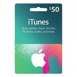 iTunes Gift Card US - $50