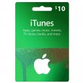 iTunes Gift Card US - $10