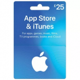 iTunes Gift Card US - $25