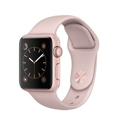 42mm Apple Watch Rose Gold (MQ112)  42mm Apple Watch Series 1 Rose Gold Aluminum Case with Pink Sand Sport Band