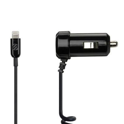 Авто зарядка Scosche strikeDrive 12W (2.4A) Aвтомобильное зарядное устройство для iOS-гаджетов (iPhone, iPad, iPod) с Lightning портом. Выходная мощность 12W (2.4A) [i2c12].