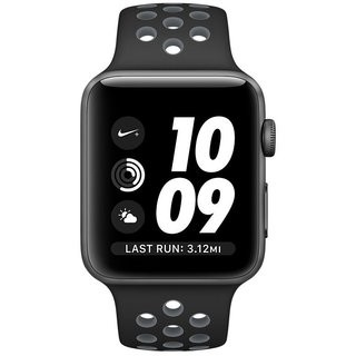 38mm Apple Watch Nike+ Space Gray (MNYX2) 38mm Apple Watch Nike+ Space Gray Case with Blk/Cool Grey Nike Sport Band (MNYX2)